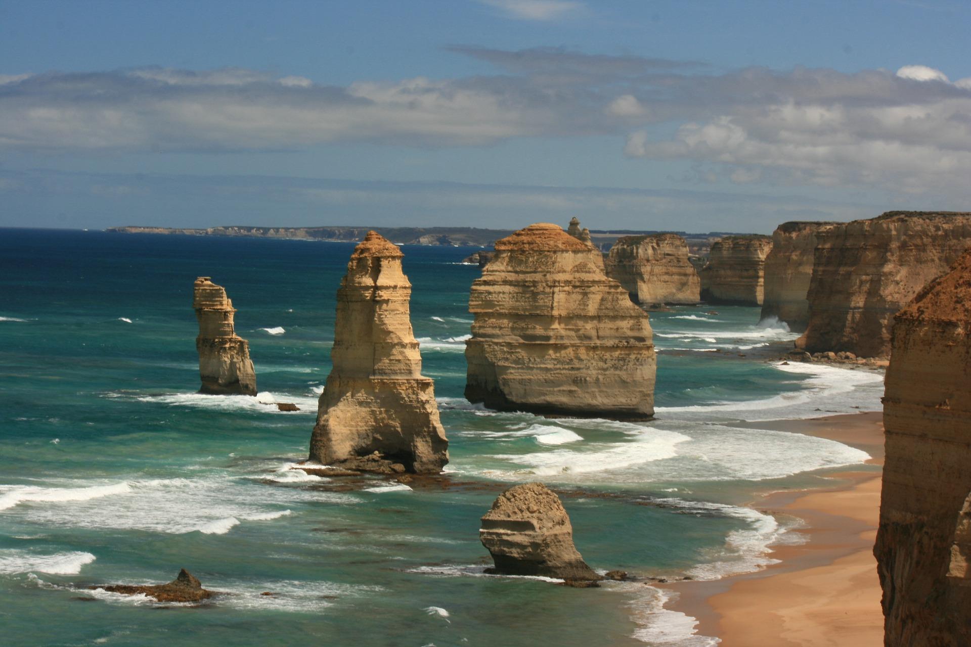 Cliffs on the Australian coast