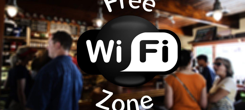 Image of free wifi zone